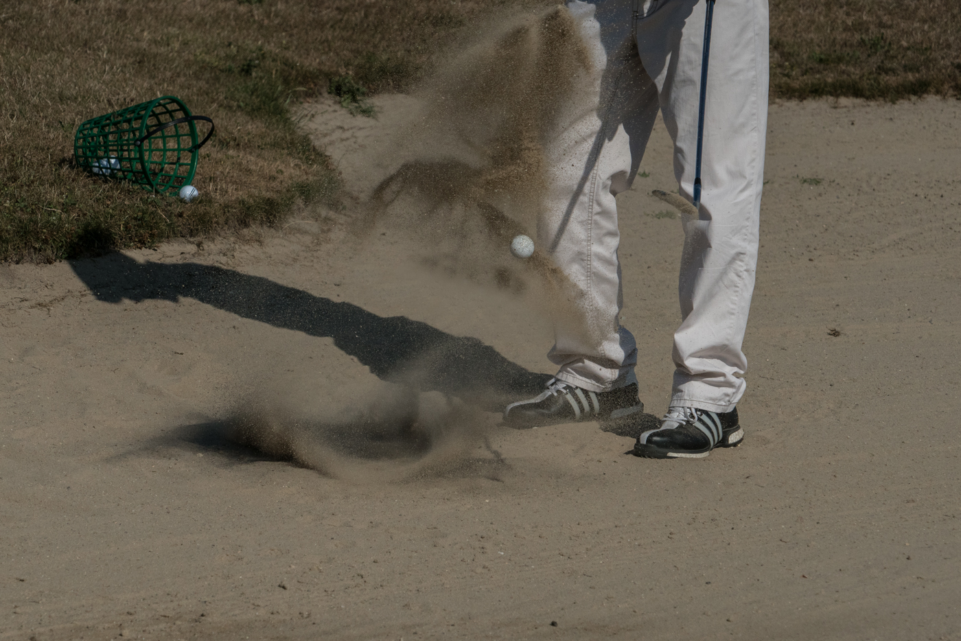 Golf – Bunkerspiel